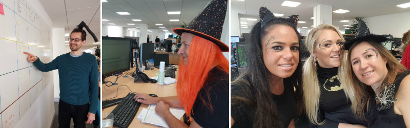 Halloween day in the office